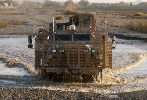 A Mastiff Protected Patrol Vehicle
