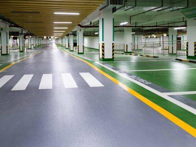 Underground Car Park Floor Paint